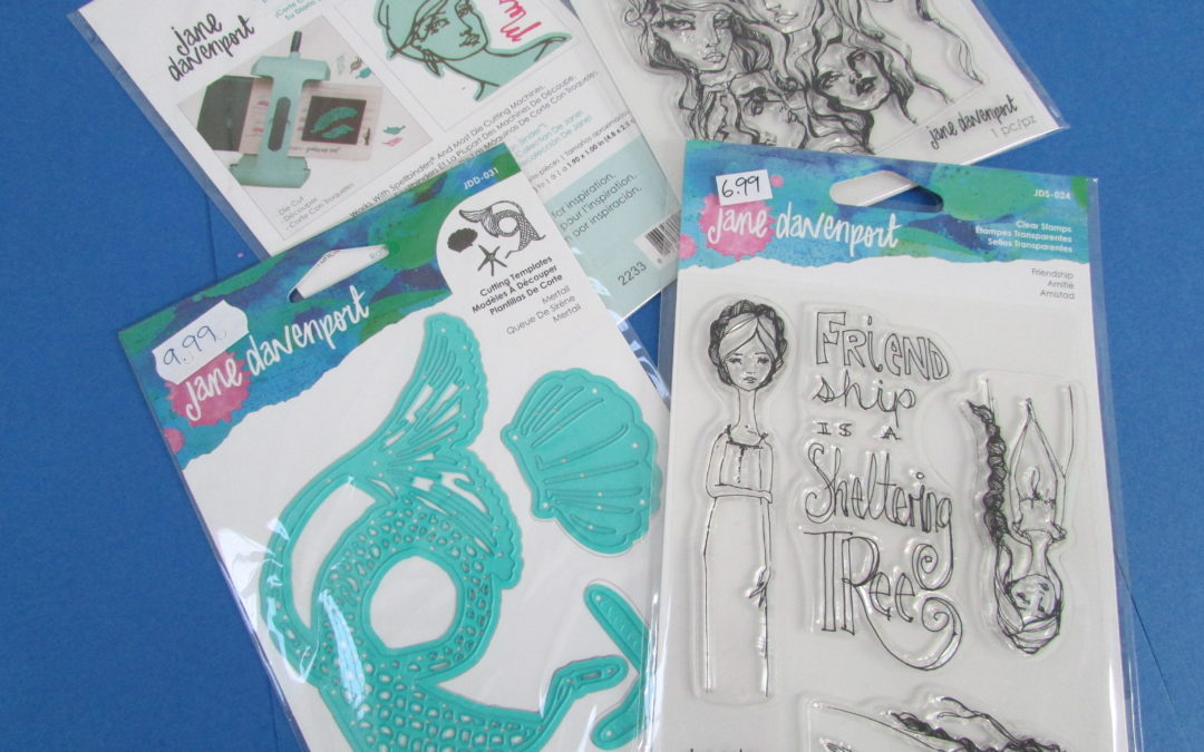Excited to stock Jane Davenport goodies, excited to start some projects..